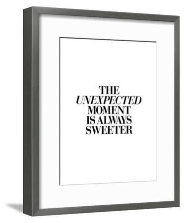 The Unexpected Moment Is Always Sweeter-Brett Wilson-Framed Art Print