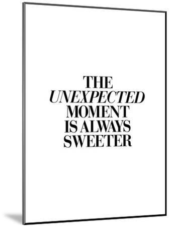 The Unexpected Moment Is Always Sweeter-Brett Wilson-Mounted Art Print