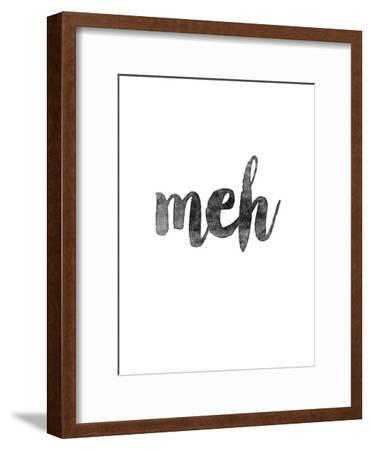 Meh-Brett Wilson-Framed Art Print