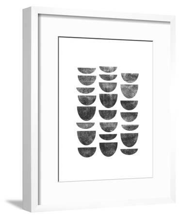 Scandanavian Geometry-Brett Wilson-Framed Art Print
