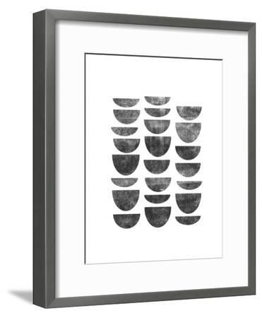 Scandanavian Geometry-Brett Wilson-Framed Art Print