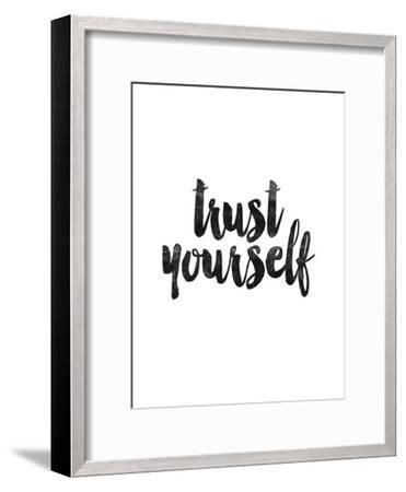 Trust Yourself-Brett Wilson-Framed Art Print