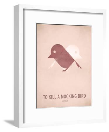 To Kill a Mocking Bird_Minimal-Christian Jackson-Framed Art Print