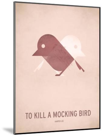 To Kill a Mocking Bird_Minimal-Christian Jackson-Mounted Art Print