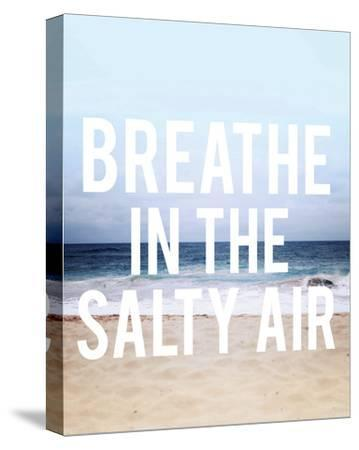 Salty Air-Leah Flores-Stretched Canvas Print