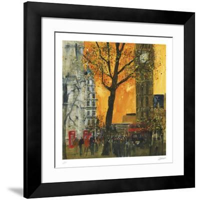 Morning Rush, London-Susan Brown-Framed Collectable Print