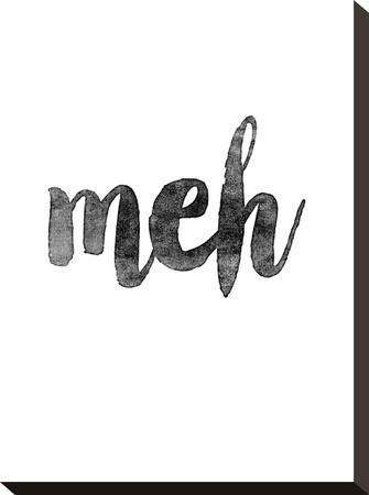 Meh-Brett Wilson-Stretched Canvas Print