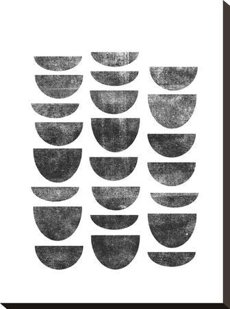 Scandinavian Geometry-Brett Wilson-Stretched Canvas Print