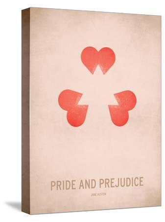 Pride and Prejudice-Christian Jackson-Stretched Canvas Print