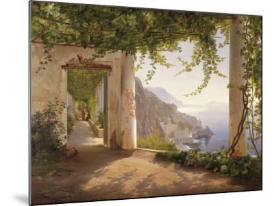 Amalfi Dia Cappuccini-Carl Frederic Aagaard-Mounted Giclee Print