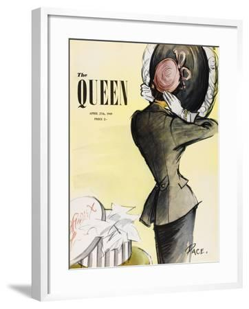 The Queen, April 1949-The Vintage Collection-Framed Giclee Print