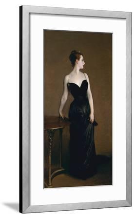 Madame X (Madame Pierre Gautreau), 1883-John Singer Sargent-Framed Art Print