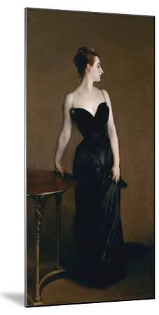 Madame X (Madame Pierre Gautreau), 1883-John Singer Sargent-Mounted Art Print