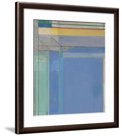 Ocean Park #79, 1975-Richard Diebenkorn-Framed Art Print