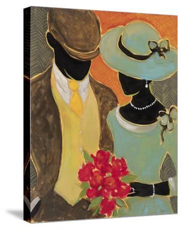 Celebrating Love I-Dupre-Stretched Canvas Print