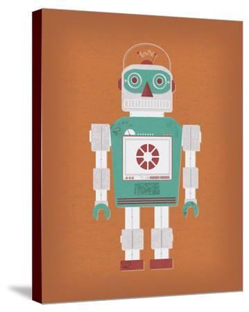 Robotik III-Tom Frazier-Stretched Canvas Print