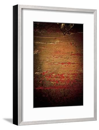 Rust in Red and Green II-Jean-Fran?ois Dupuis-Framed Art Print