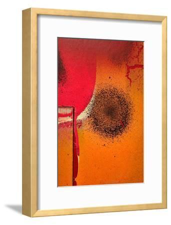 Graffiti Surface II-Jean-Fran?ois Dupuis-Framed Art Print