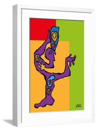 Knowledge and Wisdom-Yaro-Framed Art Print