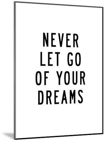 u never let go