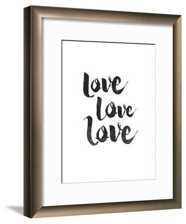 Love Love Love-Brett Wilson-Framed Art Print