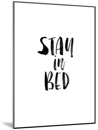 Stay In Bed-Brett Wilson-Mounted Art Print