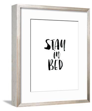 Stay In Bed-Brett Wilson-Framed Art Print