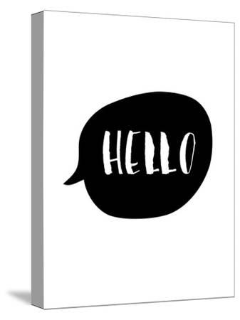 Hello-Brett Wilson-Stretched Canvas Print
