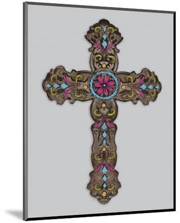 Cross III-Maria Mendez-Mounted Art Print