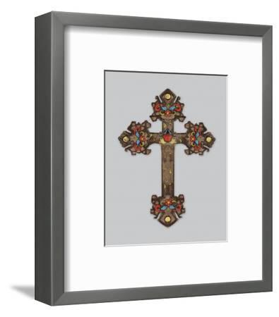 Cross II-Maria Mendez-Framed Art Print