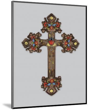 Cross II-Maria Mendez-Mounted Art Print