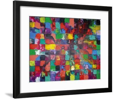 Majestic Mosaic-Caroline Ashwood-Framed Giclee Print