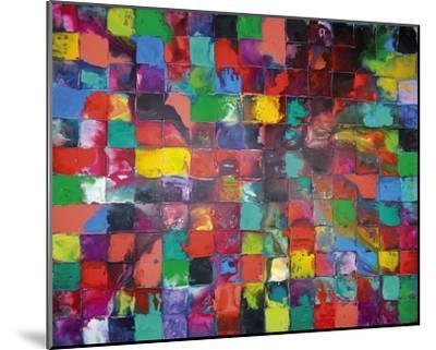 Majestic Mosaic-Caroline Ashwood-Mounted Giclee Print