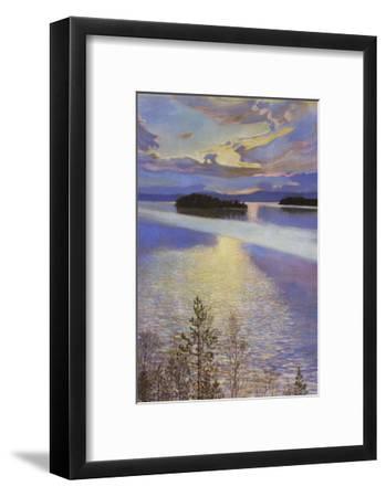 Sea View, 1901-Akseli Gallen-Kallela-Framed Art Print