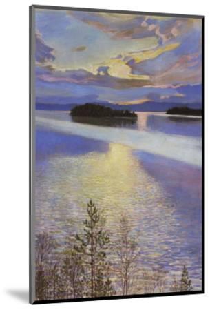 Sea View, 1901-Akseli Gallen-Kallela-Mounted Art Print