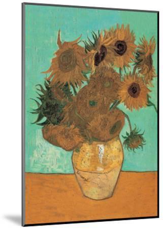 Sunflowers, 1888-Vincent van Gogh-Mounted Art Print