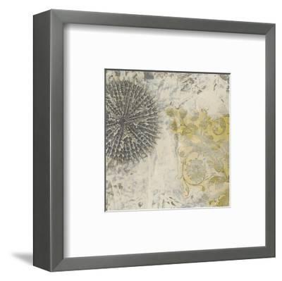 Coastal Cameo IX-June Erica Vess-Framed Art Print