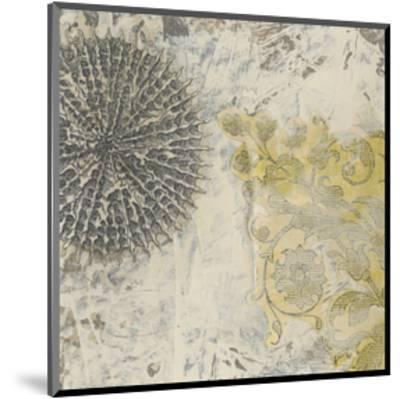 Coastal Cameo IX-June Erica Vess-Mounted Art Print