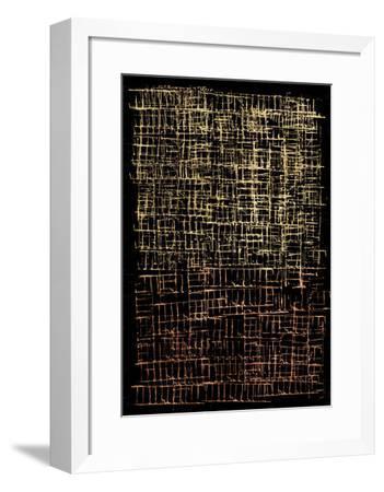 Crosshatch I-Jenna Guthrie-Framed Art Print