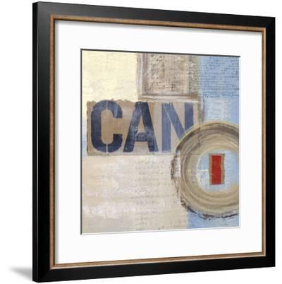 Abstract Inspiration IV-Irena Orlov-Framed Art Print