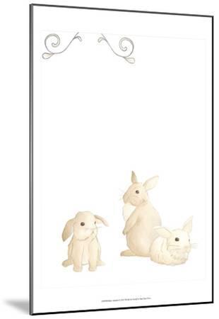 Baby Animals I-June Erica Vess-Mounted Art Print
