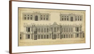 Elevation du Grand Hotel-Denis Diderot-Framed Giclee Print