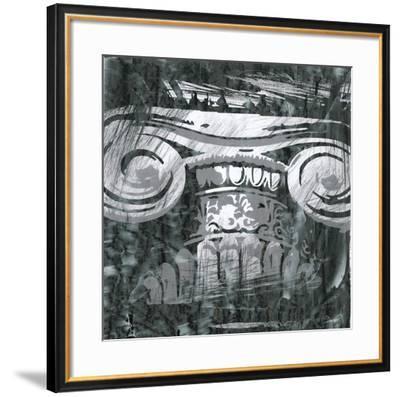 Embellished Graphic Columns II-Ethan Harper-Framed Art Print