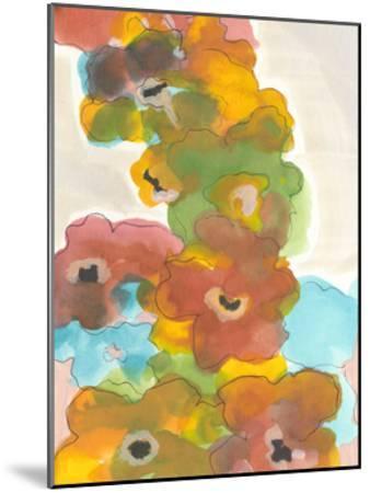 Floral Cascade I-Jodi Fuchs-Mounted Art Print