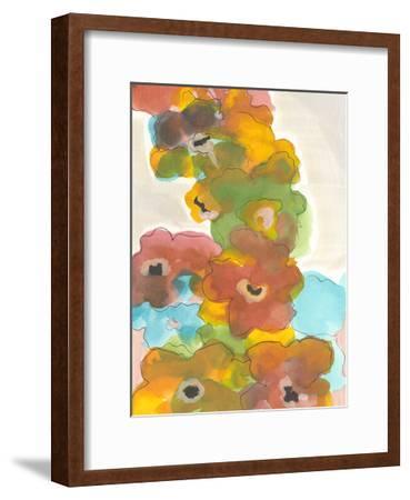 Floral Cascade I-Jodi Fuchs-Framed Art Print