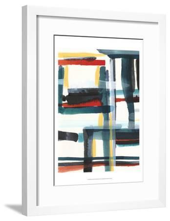 Book Shelf II-Jodi Fuchs-Framed Art Print