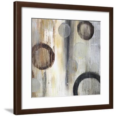 Geometric Abstraction II-Irena Orlov-Framed Art Print