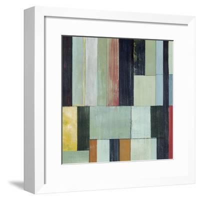Geometric Conglomeration I-Grace Popp-Framed Limited Edition