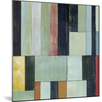 Geometric Conglomeration I-Grace Popp-Mounted Limited Edition