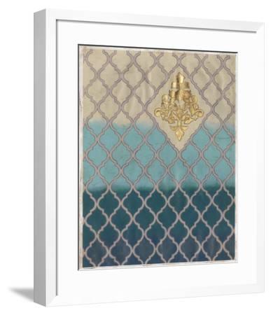Blue Mahal II-Vanna Lam-Framed Art Print